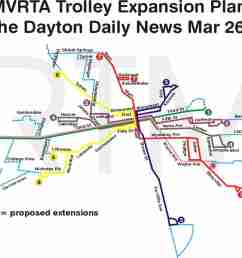 dayton planned extensions map ii [ 1541 x 1144 Pixel ]