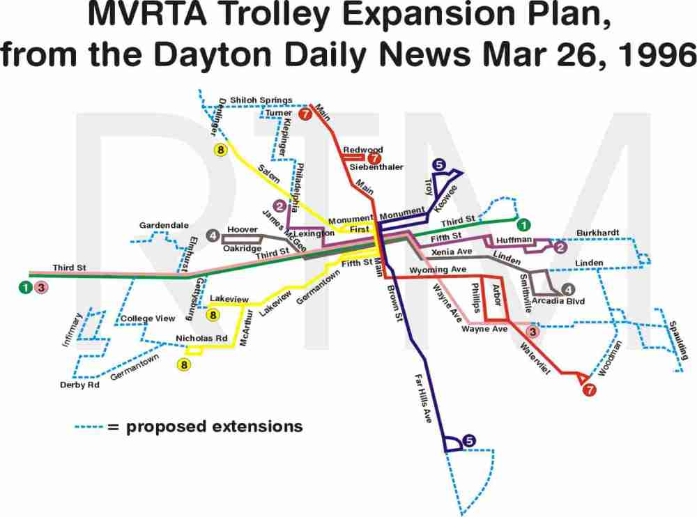 medium resolution of dayton planned extensions map ii