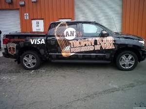 Truck Wrap for San Francisco Giants