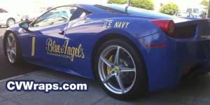 Blue Angels Car Wrap