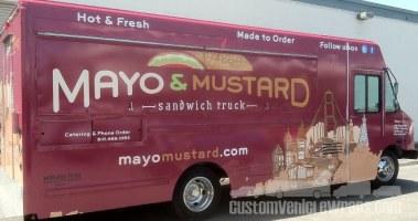 Mayo & Mustard Food Truck Wrap