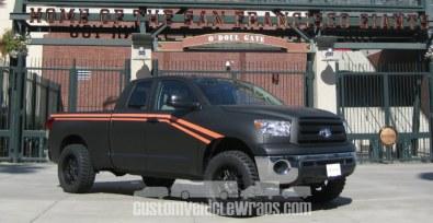 SF Giants Truck Wrap