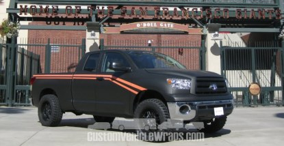 SF Giants Truck Wrap