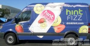 Hint Water - Van Wrap