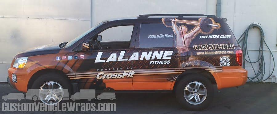 LaLanne Fitness SUV Wrap