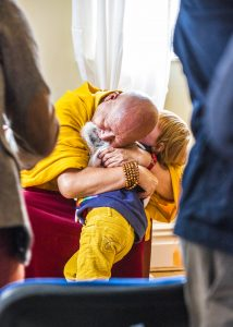 Picture for Lama Yeshe Rinpoche wanted children at the centre to be given, and to learn, the benefits of compassion and other universal ethical principles