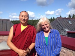 A birds eye view – Day three of my retreat at Samye Ling