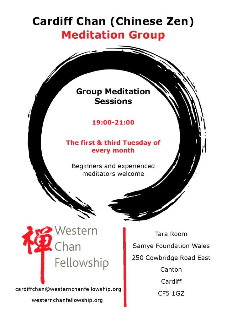 Cardiff Chan Group Evening Sits Western Chan