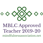 Mindfulness Association MBLC Approved Teacher Logo 2019-2020