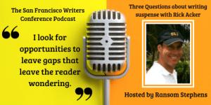 Thriller Author Rick Acker podcast