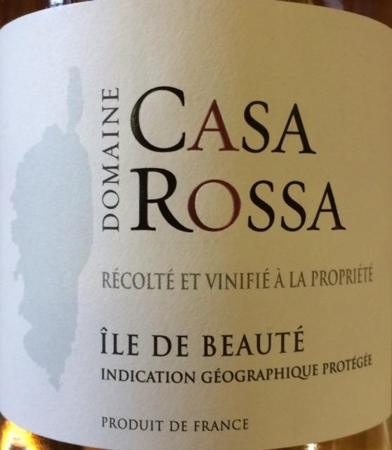 Domaine Casa Rossa  Rose Ile de Beaute 2014  The San Francisco Wine Trading Company