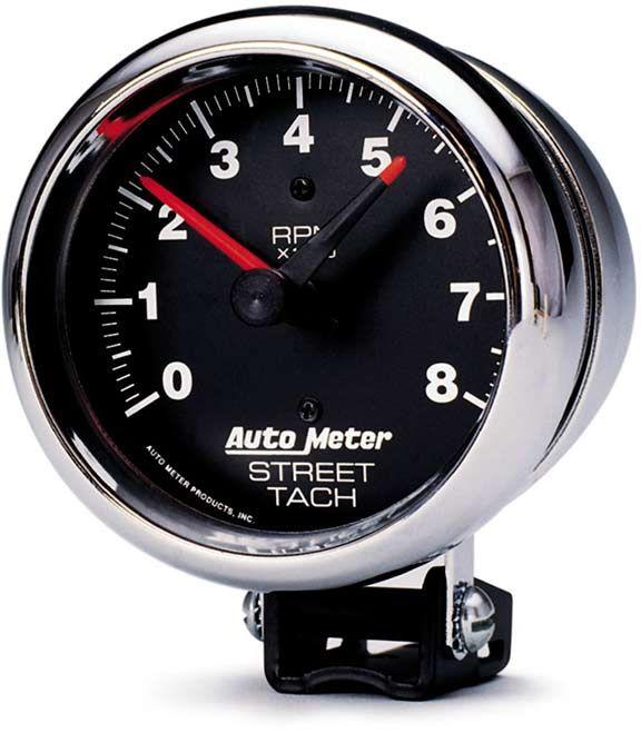 Mercury Tachometer Wiring Diagram Autometer 2895 Traditional Chrome Series Pedestal Mount