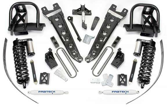 Fabtech K2139B: 8 Inch Lift Kit 2011 Ford F250 4Wd W/O