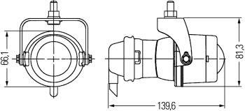 Hella H13090611: Micro De Fog Lamp Kit