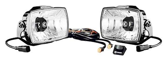 Kc Hilites 711: Gravity Led G46 Driving Beam Pair Pack System