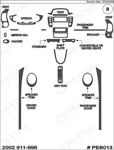 Superior Dash PEB013-WD: Basic Trim Kit Without Navigation