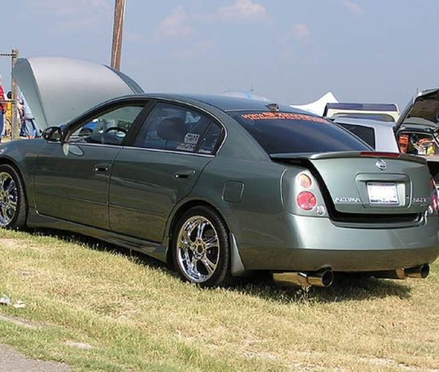 Nissan Altima Performance Auto Parts At Sfx Racing Performance And Restyling