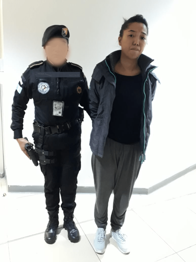 Detenida de origen brasileño con USD sin declarar