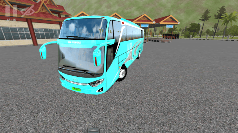 JB3-SHD New Bus Mod for Bus Simulator Indonesia