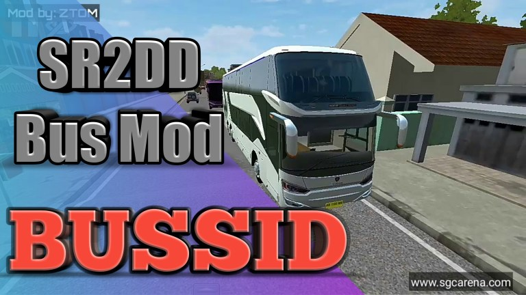 SR2DD Vehicle Mod for Bus Simulator Indonesia