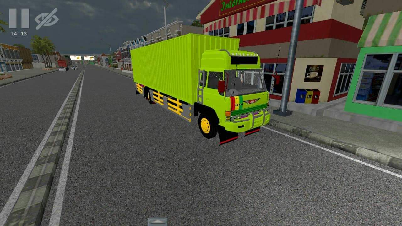 Download Hino Ranger Truck Mod for Bus Simulator Indonesia, , Bus Simulator Indonesia Mod, Mod, Truck Mod for BUSSID