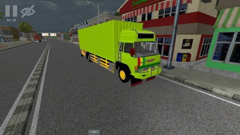 Hino Ranger Truck Mod for Bus Simulator Indonesia