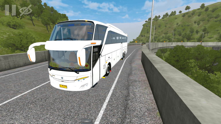 Jetbus 3 SHD Vehicle Mod for Bus Simulator Indonesia