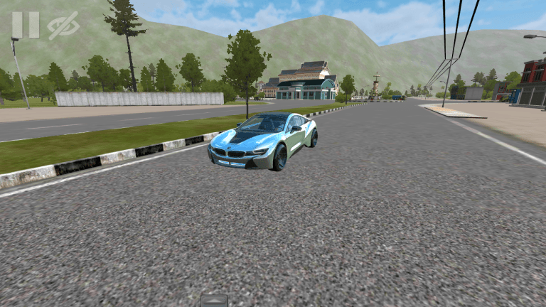 BMW i8 Car Mod for Bus Simulator Indonesia