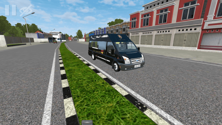 MiniBus Mod for Bus Simulator Indonesia