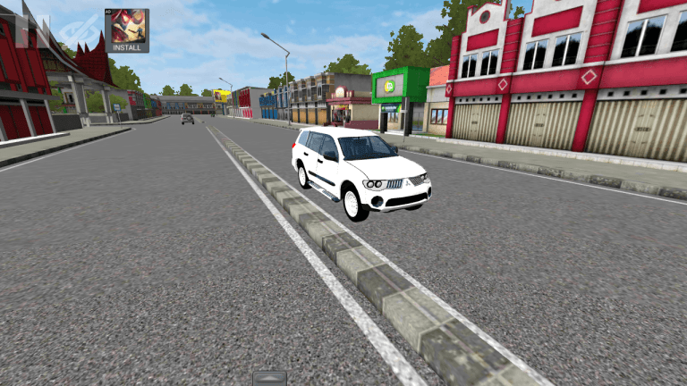 Pajero Car Mod for Bus Simulator Indonesia
