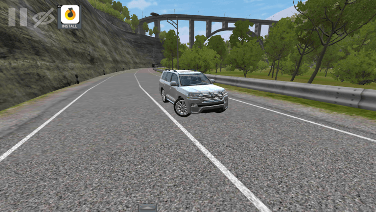 Toyota Land Cruiser Cvt Vehicle Mod for Bus Simulator Indonesia