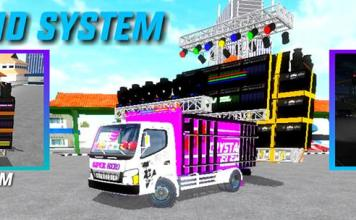 Truck With Sound System Mod