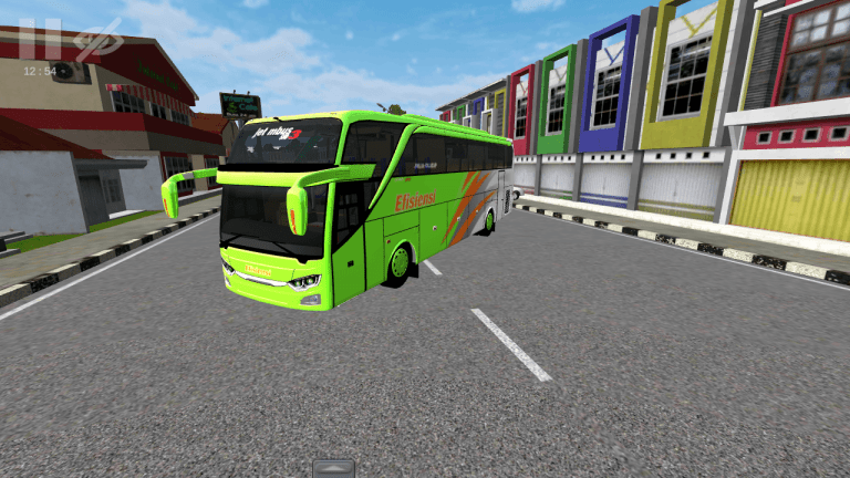 JetBus3 Vehicle Mod for Bus Simulator Indonesia