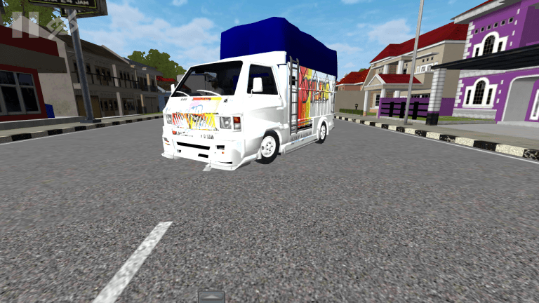 Pickup Center Beta Mod for Bus Simulator Indonesia
