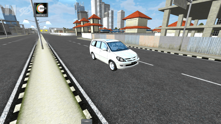 Toyota Innova Car Mod for Bus Simulator Indonesia