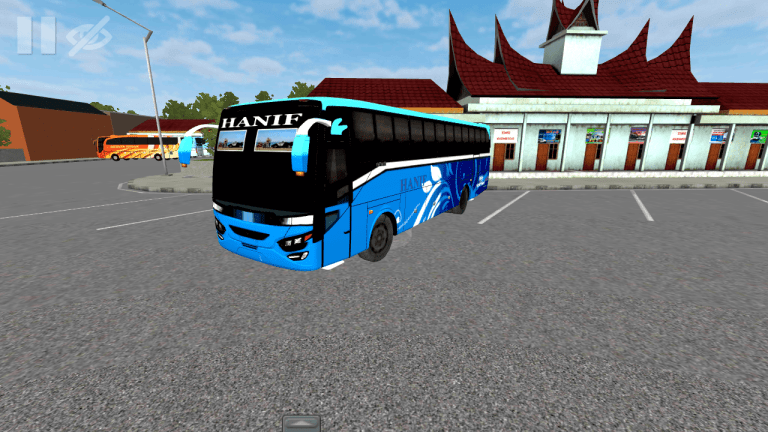 Hino AK1J Bus Mod for Bus Simulator Indonesia
