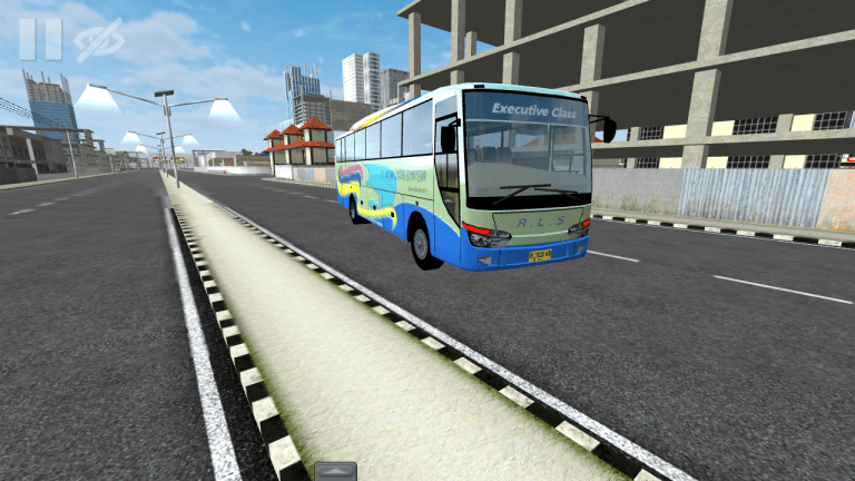 Newcel Bus Mod for Bus Simulator Indonesia
