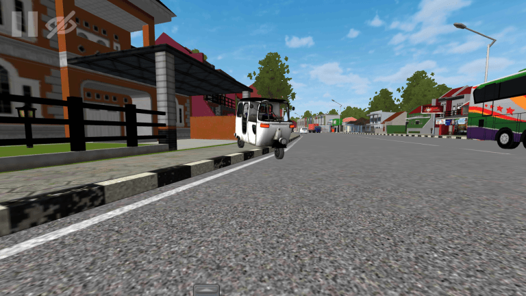 CNG Mod for Bus Simulator Indonesia
