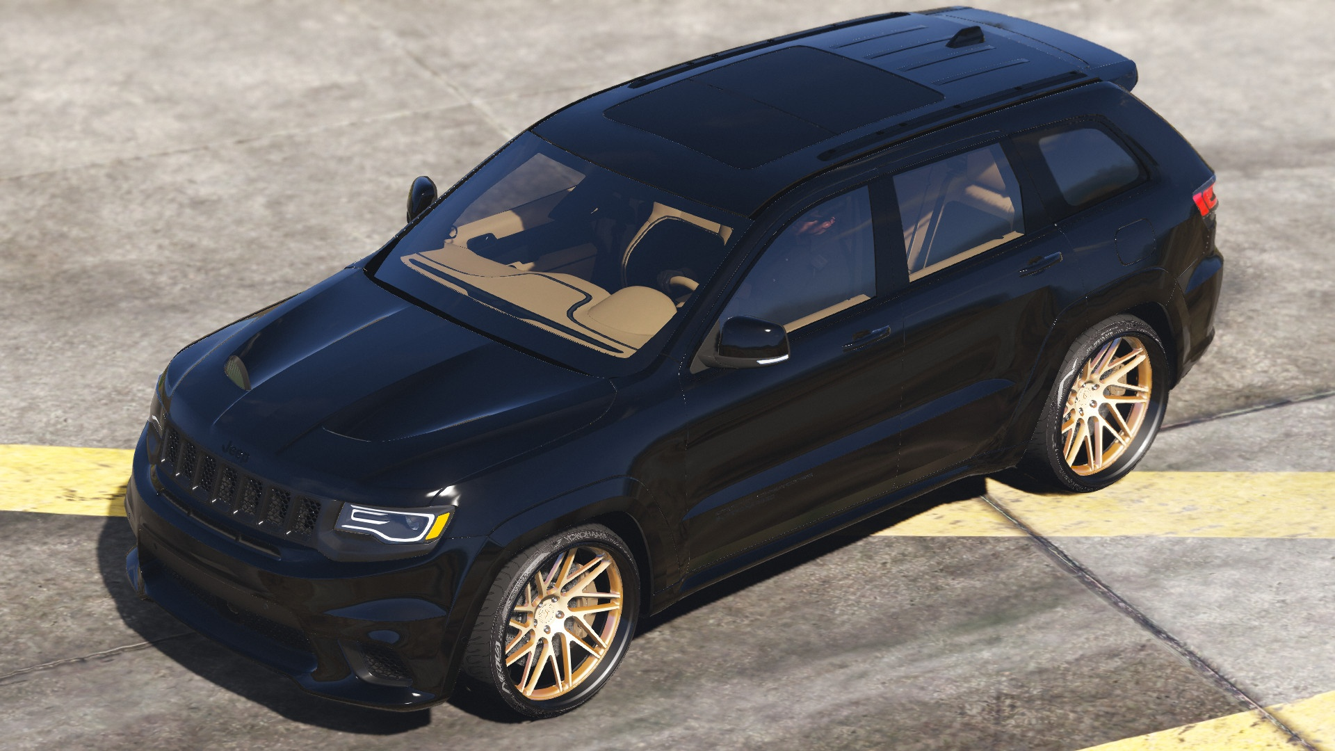Download TrackHawk Jeep Grand Cherokee SRT8  Mod for GTA V, , Gaming News, Gaming Update, gta Mods, gta V, gta V Mods, Mod, SGCArena