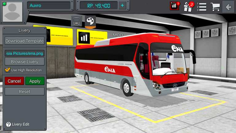 Hyundai Universe Mod for Bus Simulator Indonesia