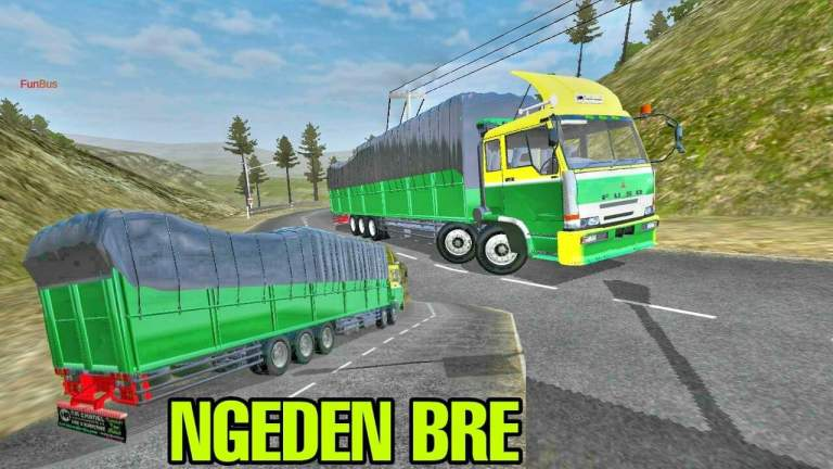 Fuso TG Truck Mod for Bus Simulator Indonesia