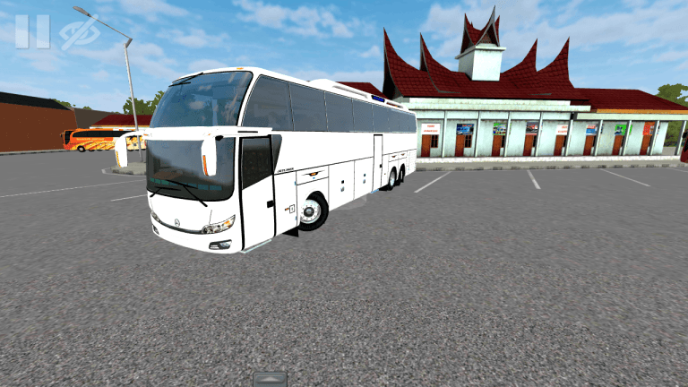 JETLINER Bus Mod for Bus Simulator Indonesia