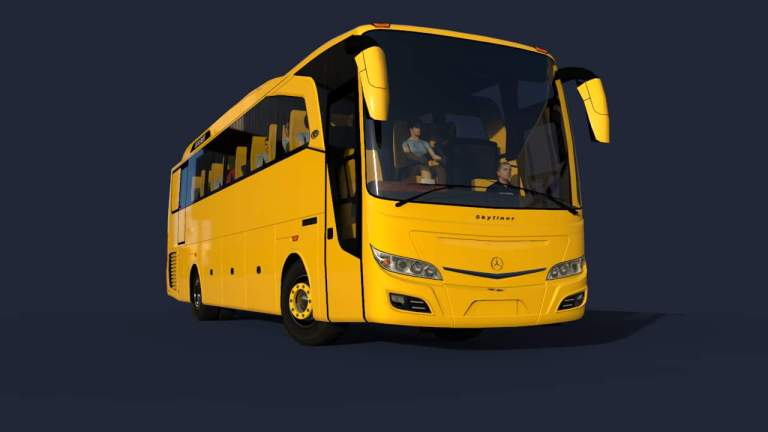 SkyLiner BSW Mod for Bus Simulator Indonesia