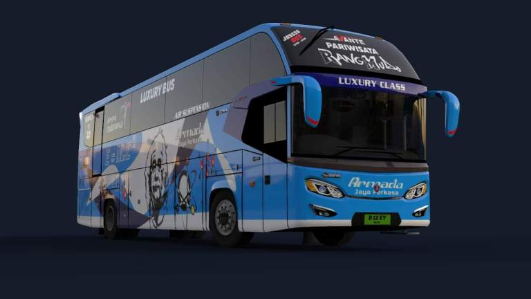 Avante Bus Mod for Bus Simulator Indonesia