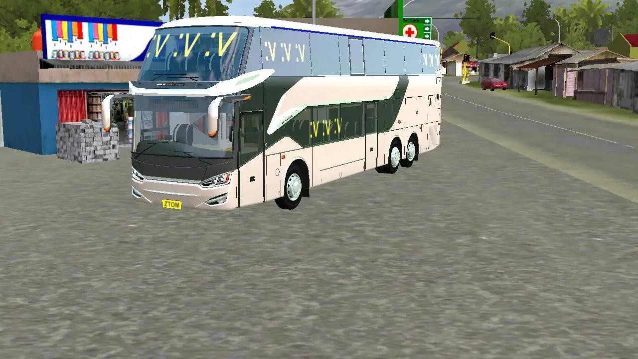 All ZTOM Bus Mod, Bus Mod, Bus Simulator Indonesia Mod, BUSSID mod, Mod for BUSSID, SGCArena, SR2 DD by ZTOM, SR2 DD V2 Bus Mod, Vehicle Mod, ZTOM