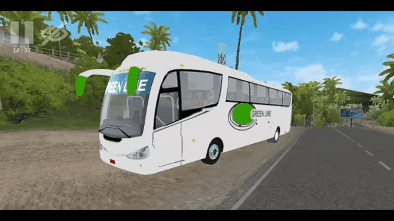 Irizer PB Bus Mod for Bus Simulator Indonesia