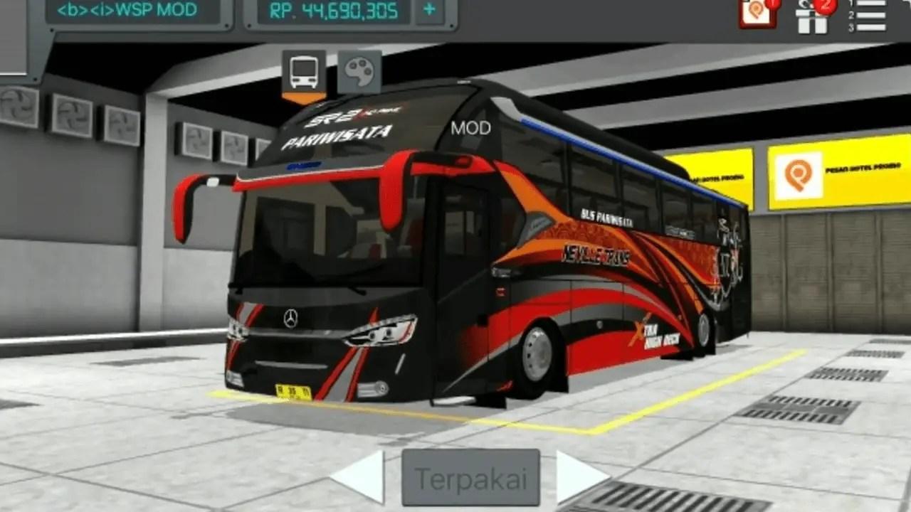 Download SR2 ECE R66 Updated Bus Mod for Bus Simulator Indonesia, SR2 ECE R66, SR2 ECE R66