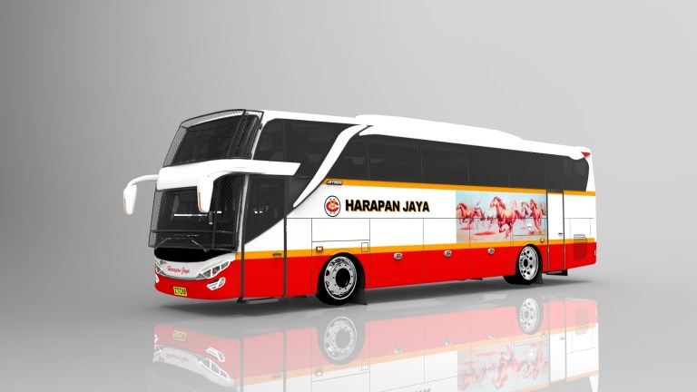JB2 SHD Bus Mod for Bus Simulator Indonesia
