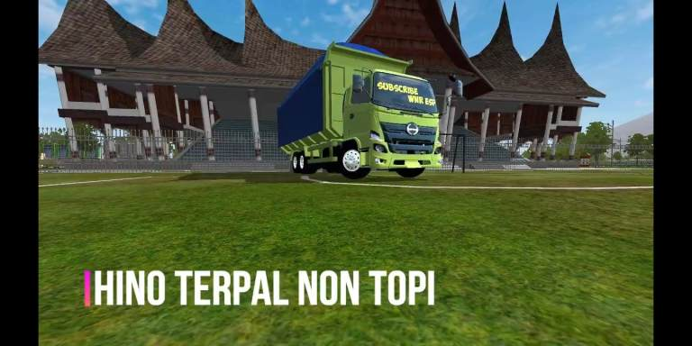 HINO 500 NEW GEN DUMP Truck Mod for BUSSID