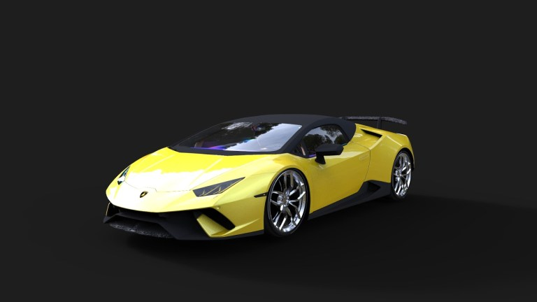 LAMBORGHINI HURACAN Mod for Bus Simulator Indonesia